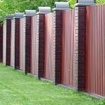 Забор из профнастила - плюсы и минусы