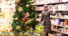 Среди победителей в городском конкурсе на лучшее новогоднее оформление стали «Термы Мира» и гипермаркет «Лента»
