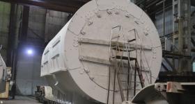ЭЛСИБ отгрузил модернизированный статор турбогенератора для Ново-Салаватской ТЭЦ