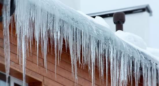 Защита крыши зимой