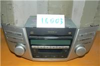 Магнитофон Toyota Harrier/ MCU3#,GSU35,GSU36/ CD+FM+кассета/ к.т.№ TOYOTA HARRIER
