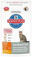 Сухой корм для кошек Hill's Science Plan Feline Sterilised Cat Young Adult Chicken 1,5 кг