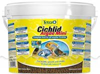 Корм для рыб TetraCichlid Algae Mini 10 л, мини-гранулы для цихлид Германия
