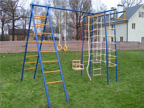 Спортивный комплекс для детей для дачи