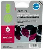 Картридж Cactus CS-CD973 для HP Officejet 6000/6500/7000/7500 (пурпурный)