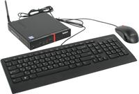 Системный блок Lenovo ThinkCentre M600 TINY 10G9001LRU (черный)