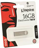 USB-флеш-накопитель Kingston DataTraveler SE9 16GB (DTSE9H/16GB) (серебристый)