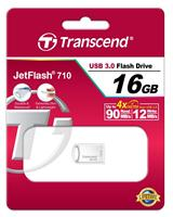 USB флешка Transcend JETFLASH 710 16GB (серебристый)