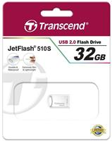 USB флешка Transcend Jetflash 510 32GB (серебристый)