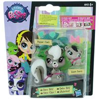 Littlest Pet Shop Набор фигурок Pepper Clark и Dawn Ferris. A7313_A8425