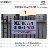 Ronald Brautigam. Beethoven. Complete Works For Solo Piano 1 (SACD), альбом 2011
