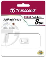 USB флешка Transcend Jetflash 510 8GB (серебристый)