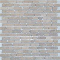 Мраморная мозаичная смесь ORRO Mosaic Stone Travertine Classic Interlocking TUM