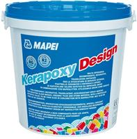 Затирочная смесь Mapei Kerapoxy Design №115, river grey (ведро 3 кг)