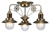 Люстра потолочная Arte Lamp Decorative Classic Sailor A4524PL-3AB