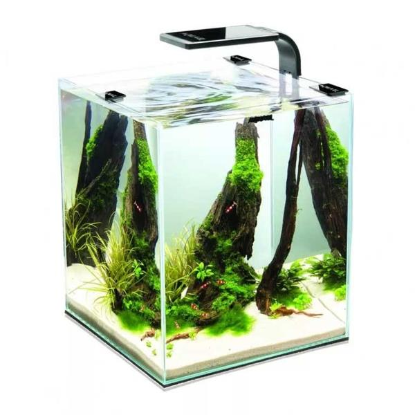 Аквариум Aquael Shrimp SET Smart LED Plant ll 30 / черный (30 л)