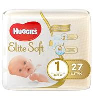 Подгузники Huggies Elite Soft 1, до 5 кг, 27 шт, арт. GL000102788