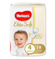 Подгузники Huggies Elite Soft 4, арт. GL000113525