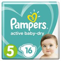 Подгузники Pampers Active Baby-Dry 5 Junior, от 11 до 18 кг, арт. 2200000740