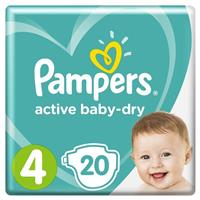 Подгузники Pampers Active Baby-Dry 4 (Maxi), арт. 2100004841