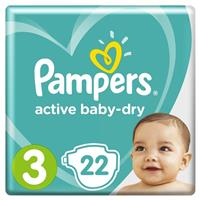 Подгузники Pampers Active Baby-Dry 3 (Midi), арт. 2200000736