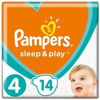 Подгузники Pampers Sleep & Play 4 Maxi, от 7 до 14 кг, арт. 2100005721