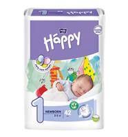 Подгузники Bella Baby Happy Newborn 1, р. 1, 2-5 кг, арт. 100007666