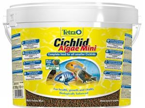Корм для рыб Tetra TetraCichlid Algae Mini 10 л, мини-гранулы для цихлид