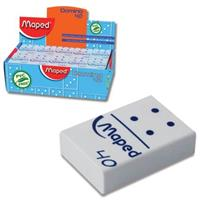 Ластик Maped Domino 511240 22х32х8.5мм, Китай