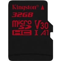 Карта памяти Kingston microsdhc 32gb class uhs-i u3 v30 canvas react + адаптер 70mb/s (sdcr/32gb)