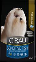 Корм сухой Farmina Cibau Sensitive Fish Mini Корм для собак мини пород Рыба 800г
