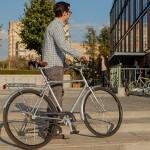 Только 5% новосибирцев готовы время от времени добираться на работу на велосипеде!