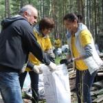 Старт Всероссийского экологического субботника в Новосибирской области: «Балтика» за раздельный сбор и переработку отходов