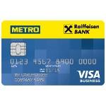 Райффайзенбанк и METRO запустили кобрендовую карту для предпринимателей