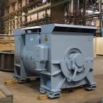 ЭЛСИБ отгрузил 15-тонный двигатель на Криворожскую ТЭС